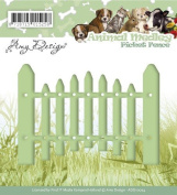 Find It Trading Picket Fence Amy Design Animal Medley Die