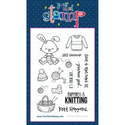 Your Next Stamp Clear Stamps 10cm x 15cm Sprinkles - Knit Happens