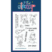 Your Next Stamp Clear Stamps 10cm x 15cm Sprinkles - Hoppy Holidays