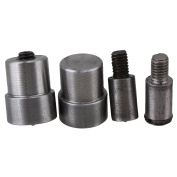 Silver 10mm Button Surface Dia Snap Button Dies Mould Set for 655 Hand Pressing Machine Spare Parts