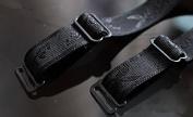 2pairs Black Adjustable Elastic Jacquard Spaghetti Ribbon Bra Straps 1.5cm Width Halter Straps for Women Bra Accessories Wb44
