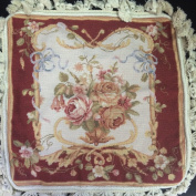 New Royal Collection Handmade Wool Needlepoint Cushion Cover/ Pillow Sham NP373