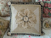 New Royal Collection Handmade Wool Needlepoint Cushion Cover/ Pillow Sham NP054