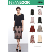 New Look Sewing Pattern UN6400A Autumn Collection Misses' Skirts in Various Styles Sewing Patterns, A