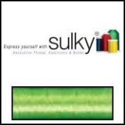 Sulky Of America 60wt Solid Polylite Thread, 1650 yd, Lime