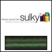 Sulky Of America 60wt Solid Polylite Thread, 1650 yd, Dark Avocado