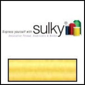 Sulky Of America 60wt Solid Polylite Thread, 1650 yd, Pastel Yellow