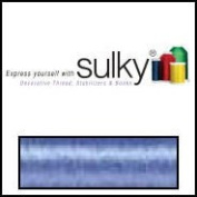 Sulky Of America 60wt Solid Polylite Thread, 1650 yd, Medium Blue