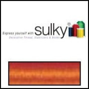 Sulky Of America 60wt Solid Polylite Thread, 1650 yd, Tangerine