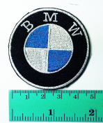 3 Patch BMW Motorcycles Motorrad Biker Jacket Shirt T-shirt Patch Sew Iron on Logo Embroidered Badge Sign Emblem Costume