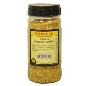 JTT Scenery Products Ballast and Gravel, Beige Mix, Medium
