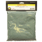 JTT Scenery Products Green Turf, Grass Green, Coarse/30 Cubic Inch