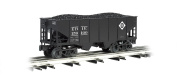 Williams by Bachmann 55-Tonne 2-Bay USRA Outside Braced Hopper with Removable Coal Load Erie - O Scale