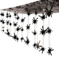 3.7m - Plastic Spider Ceiling Decoration - Great Halloween Decoration
