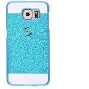 Galaxy S6 Edge +/Plus Case,Inspirationc® eauty Luxury Diamond Hybrid Glitter Bling Hard Shiny Sparkling with Crystal Rhinestone Cover Case for Samsung Galaxy S6 Edge +/Plus--Blue