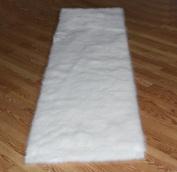 Flokati Faux Fur Rugs 0.6m x 2.4m