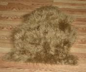 Faux Sheepskin Fur Pelt 0.6m x 0.9m