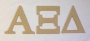 Alpha Xi Delta 19cm Unfinished Wood Letter Set