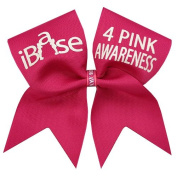 iBase 4 Pink Awareness Cheer Bow