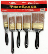 Linzer PA-1125S 5-Piece Time Saver Better Quality Polyester Brush Set