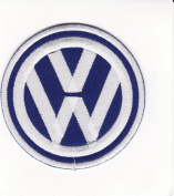 VW Volkswagen Embroidered Iron on Patch