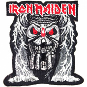 IRON MAIDEN Heavy Metal Rock Music Band Iron On Patches # WITH FREE GIFT