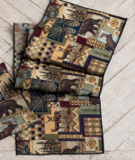 Woodland Cabin Table Runner