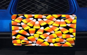 Candy Corn Design Aluminium Licence Plate for Car Truck Vehicles