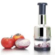 EIN Stainless Steel Vegetable Garlic Onion Chopper Slicer Cutter Dicer