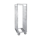 Cres Cor Full Height Mobile Utility Rack