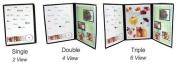 Menu Cover - Double Panel - Four Views