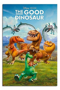The Good Dinosaur Characters Poster Gloss Laminated - 91.5 x 61cms