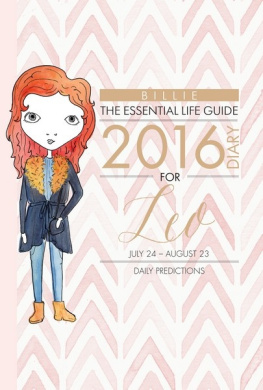 By Billie the Essential Life Guide Taurus 2018 Diary