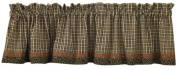 Cider Mill Lined Valance With Border