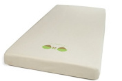 MeZooMe Fitted Sheet for Baby Cot 100% Organic Cotton AZO Free