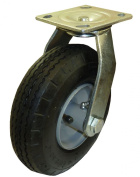 Marathon Industries 00314 20cm Swivel Caster with Air Filled Pneumatic Tyre