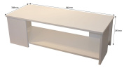 Boldon - Lounge Furniture Occasional / Coffee Table - White