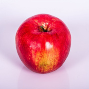 "Artificial Apple, red, 3"" / 75cm, Ø 3.1""/8 cm - Fruit ornament / Fake fruit - artplants"