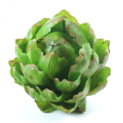 artificial artichoke 12cm green