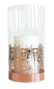 Pluto Produkter Star Metal Tealight Holder Copper