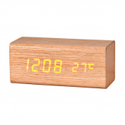 Tonsee Temperature Sounds Control display electronic desktop LED Alarm Clock