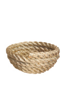 Areaware Coil Rope Bowl, Gold