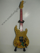 """ALICE IN CHAINS JERRY CANTRELL G & L """"BLUE DRESS"""" Miniature Guitar"""