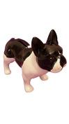 Dog Money Bank Ceramic French Bulldog Design,-Model Maween Laure L17cm Terrier,
