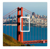 San Francisco Golden Gate Bridge Vinyl Light Switch Cover Sticker