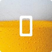 Beer Vinyl Single Light Switch Sticker Skin Wrap by Ellis Graphix