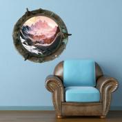 Full Colour Titanic Porthole Planets Universe Galaxy Spaceship Wall Art Sticker Decal Mural Transfer Print 10