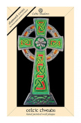 Celtic Threads Hand Painted Wall Plaque High Cross