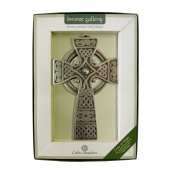 Bronze Plated Wall Plaque with Cross of Hope Design