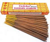 Goloka Nag Champa Incense Sticks Finest Masala 100 Gramme